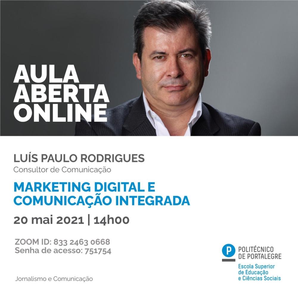 Marketing Digital e Comunicação Integrada _ Luís Paulo Rodrigues