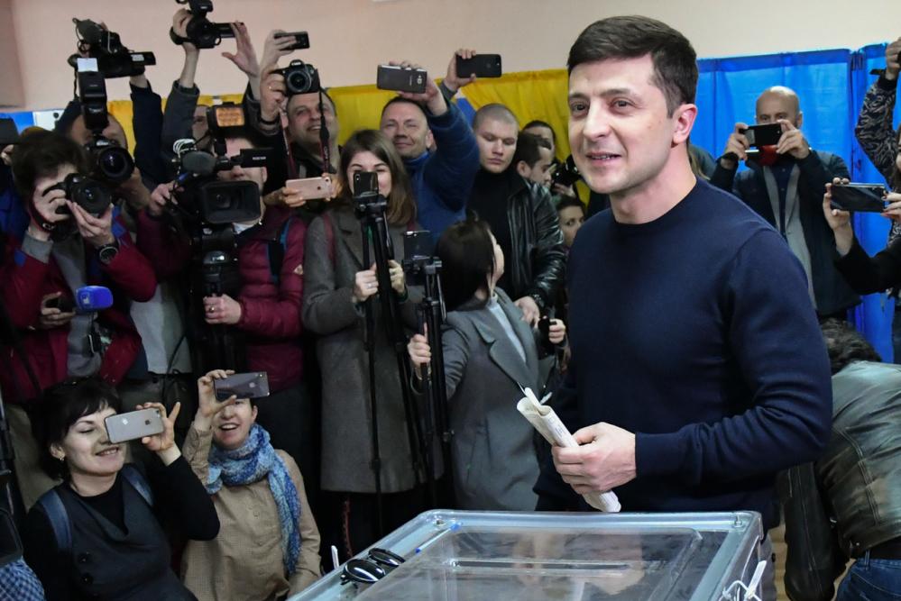 Presidente da Ucrânia _ Genya Savilov _ Getty